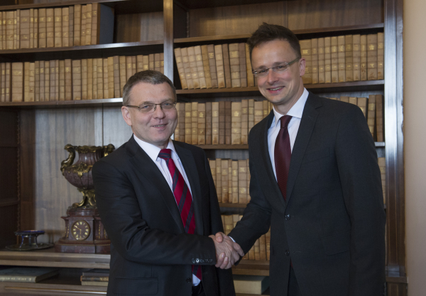 A magyar és a cseh külügyminiszter szerint egymásra talált a két ország gazdasága