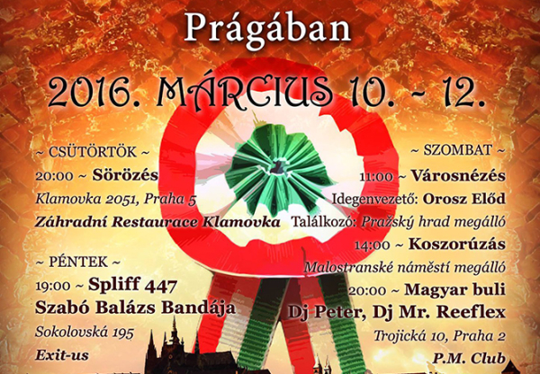 Prague / March festival-weekend – Saturday