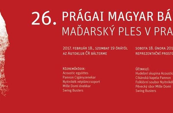 Prága / 26. Prágai Magyar Bál