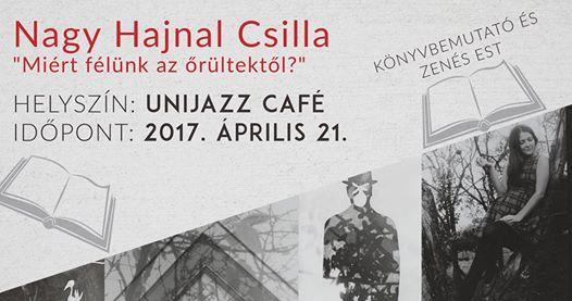 Prága / Könyvbemutató és zenés est Nagy Hajnal Csillával
