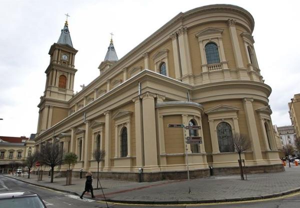 Ostrava / Katolikus szentmise