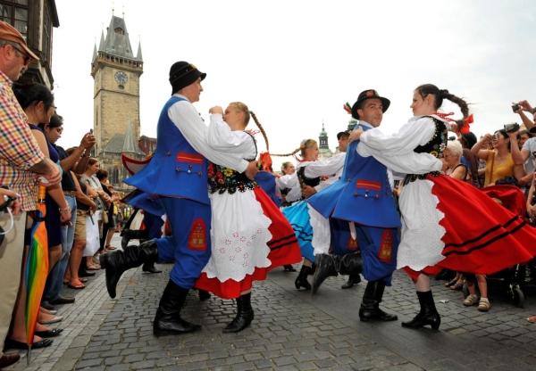 Prágai folklórfesztivál