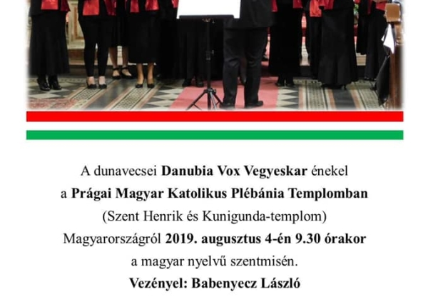 Danubia Vox Vegyeskar koncertje